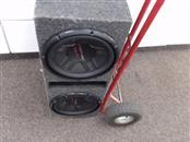 "PIONEER ELECTRONICS Car Speakers/Speaker System 12"" SUBWOOFER"